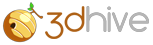 3Dhive Logo